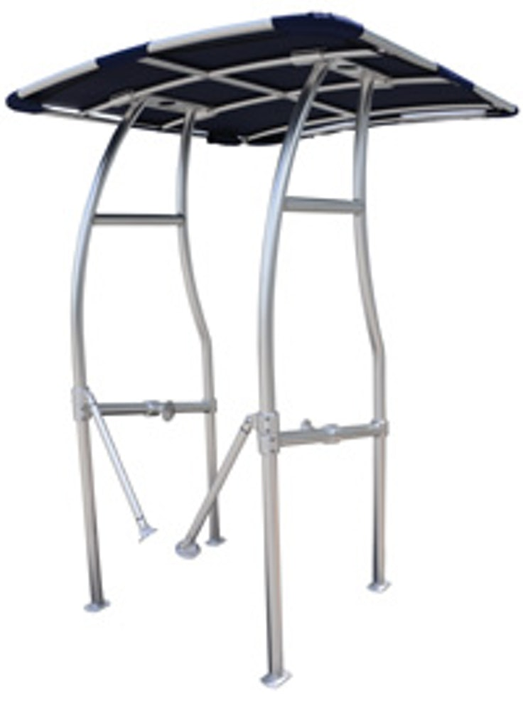 Adjustable Anodized Aluminum T Top By Taco Coverquest
