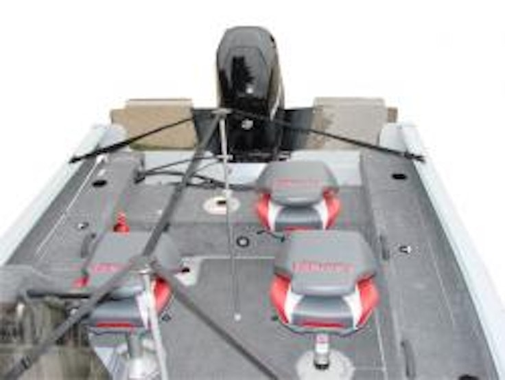 Shoretex boat cover support system coverquest for Boat lift motor covers