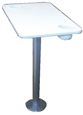 Main Product Image for Garelick Table with Stowable Pedestal
