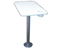 Product Image for Garelick Table with Stowable Pedestal