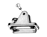 Product Image for Nylon Combination Deck Hinge Slide/Lock - Left Side
