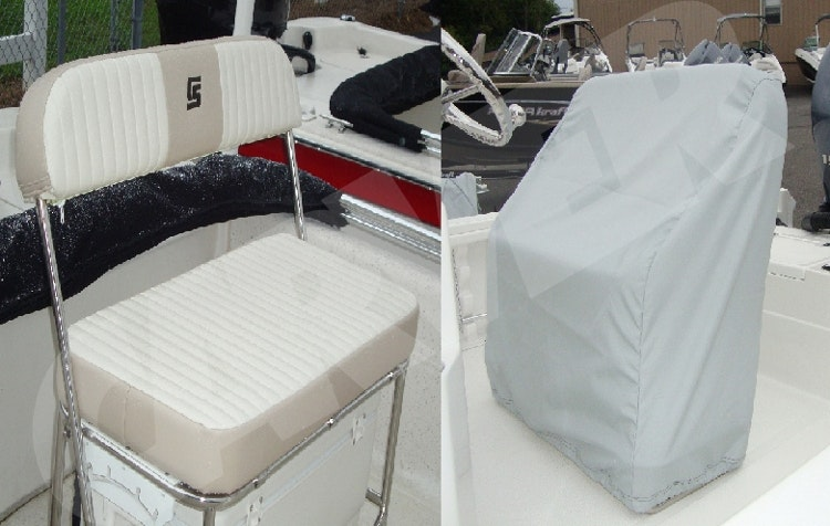 Product Image for 7 oz. Sun-DURA Reversible Boat Seat Cover