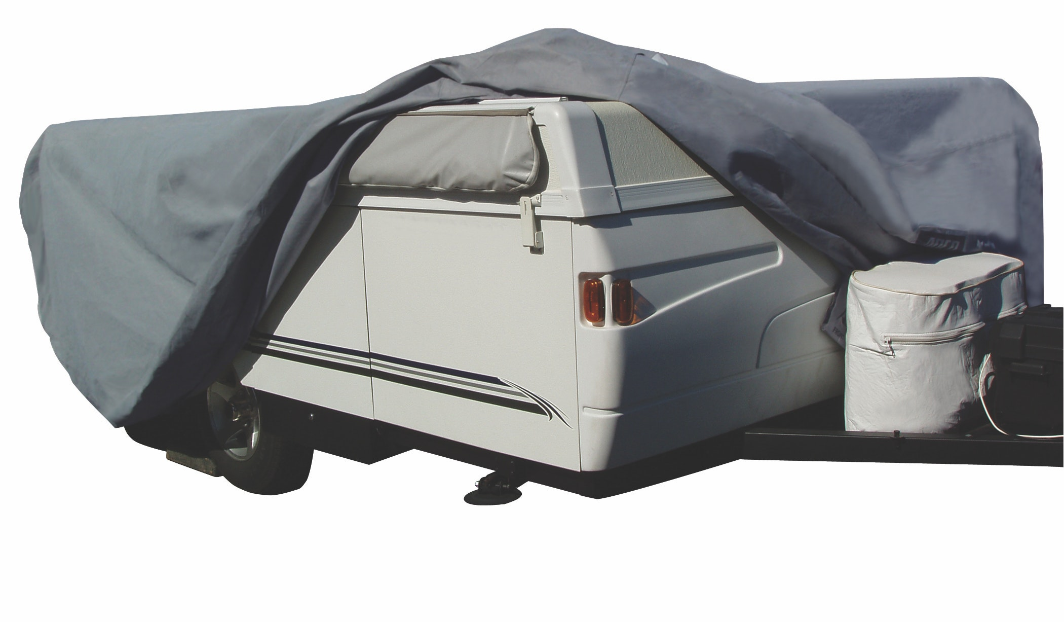 Product Image for ADCO ADCO AquaShed Up to 8' Folding Trailer / Pop Up Camper RV Cover Rv