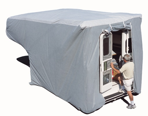 Main Product Image for  ADCO AquaShed 8' - 10' Slide-in Truck Camper RV Cover