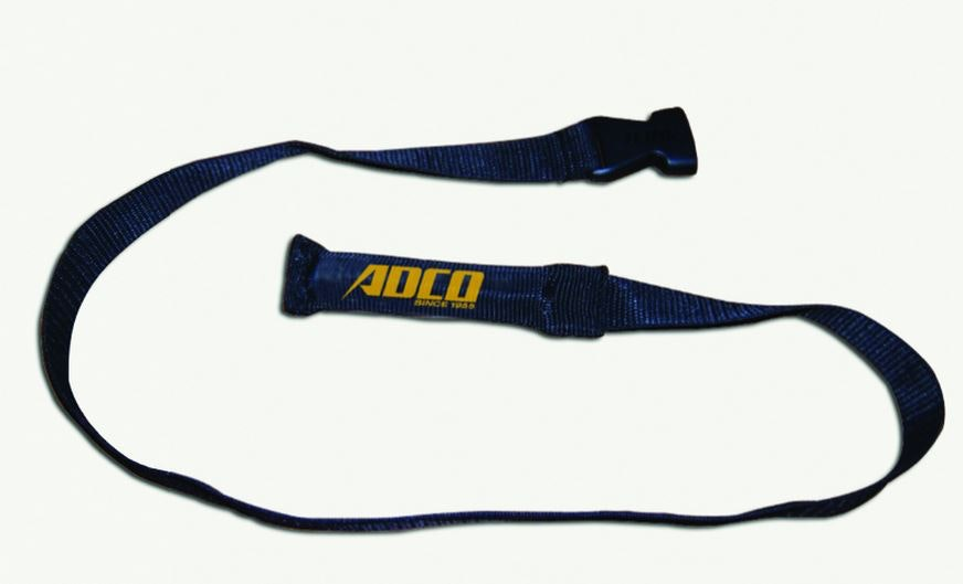 Weighted Tie Downs Assist in get Straps and Buckles to the Opposing Side of your RV