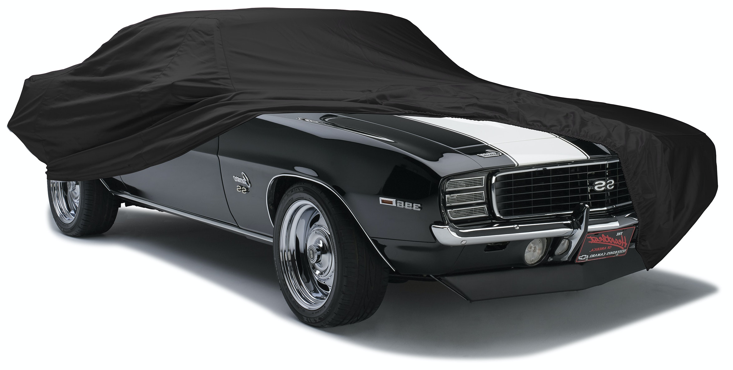 Covercraft Custom Fit Car Cover for Select Pontiac Firebird//Firebird Trans Am Models Black Fleeced Satin FS14546F5