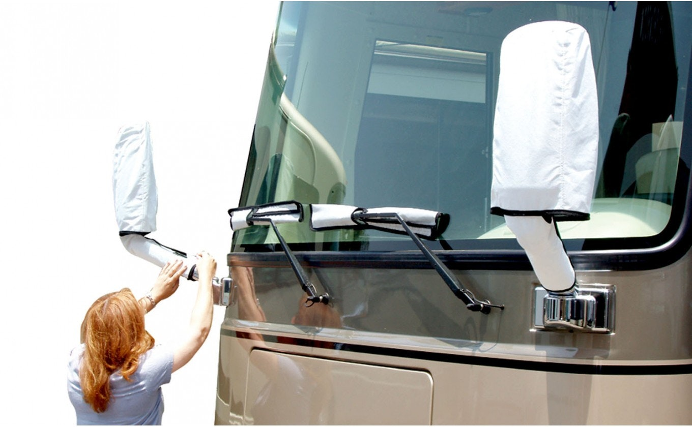Main Product Image for RV Side Mirror and Windshield Wiper Covers