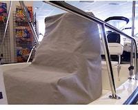 Product Image for 9.25 oz. Sunbrella Custom Console Cover for 2003-2007 Boston Whaler 170 Montauk