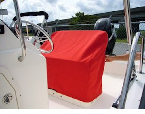 Main Product Image for 9.25 oz. Sunbrella Custom Reversible Seat Cover for 2003-2008 Boston Whaler 170 Montauk
