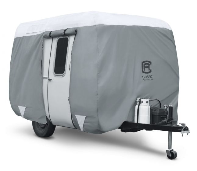 Product Image for Classic Classic PolyPRO3 Molded Fiberglass 8' - 10' Travel Trailer RV Cover Rv