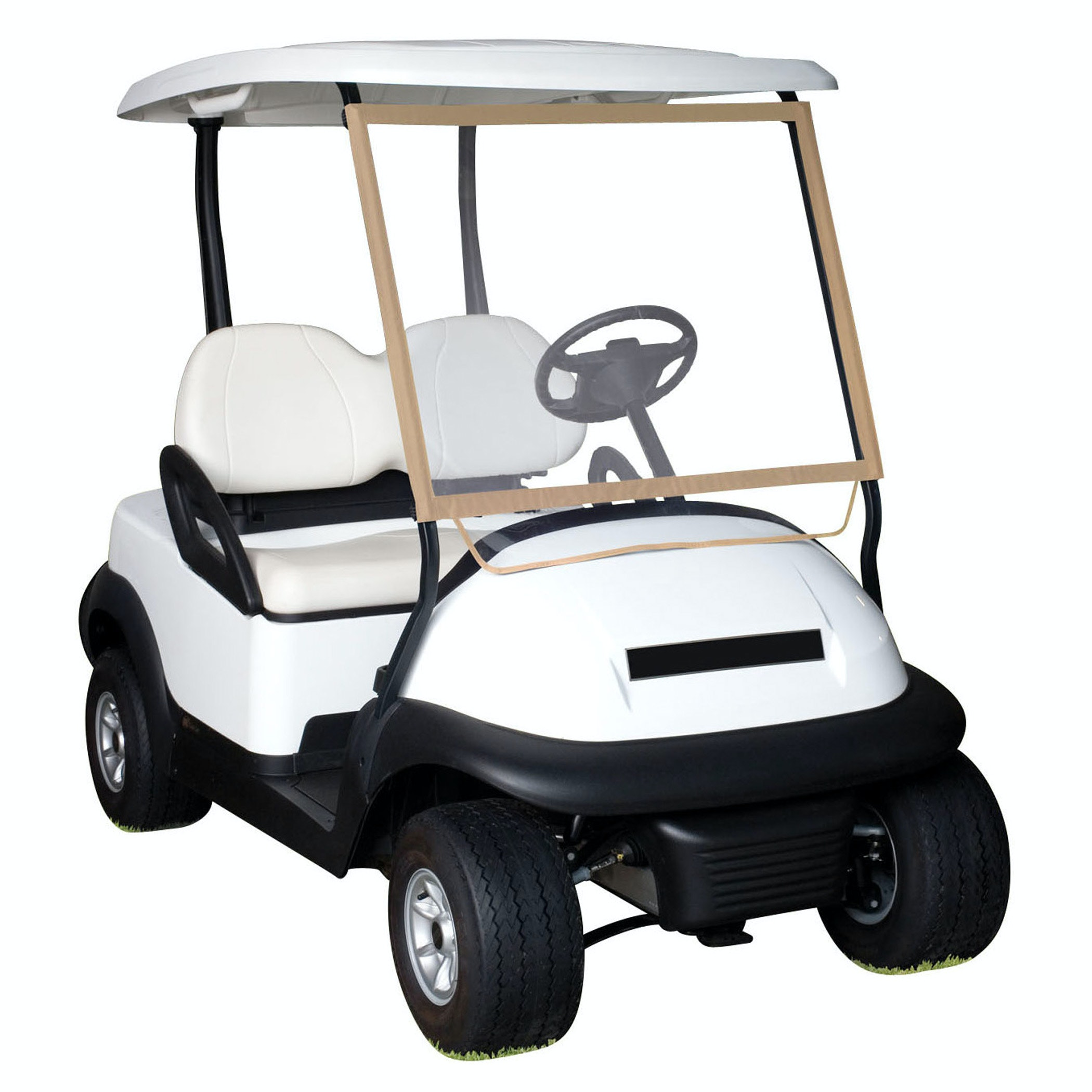 Product Image for Deluxe Portable Golf Cart Windshield